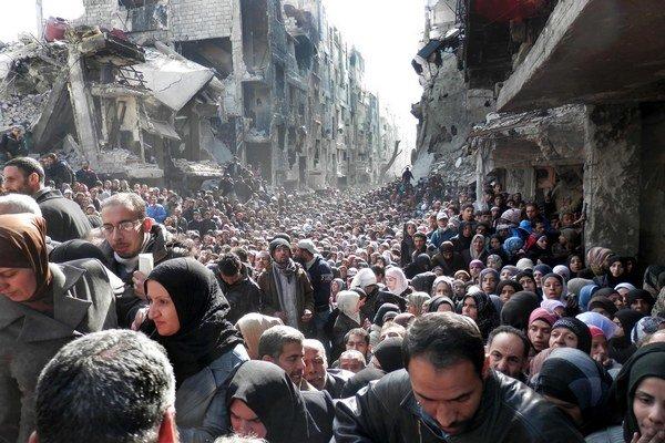 Jarmúk bol najväčším palestínskym utečeneckým táborom.