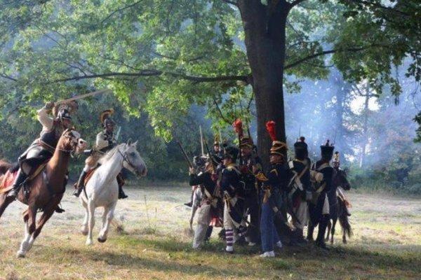 Ukážky bojov napoleonských vojsk pri Stupave.