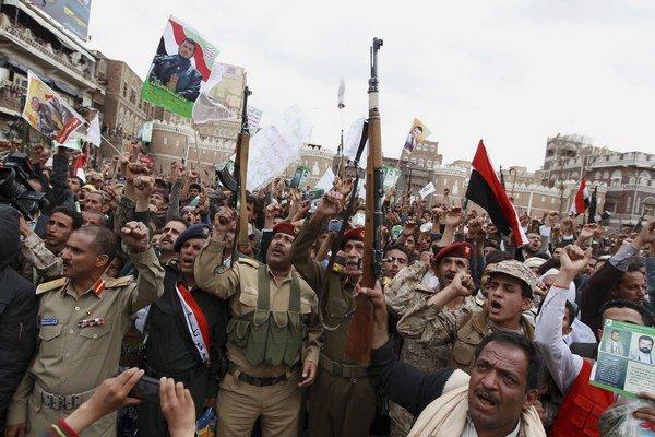 Šiitskí povstalci známi ako Húsíovci sú spojencami Iránu.