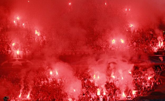 Aj takto to vyzeralo včera vo Varšave.