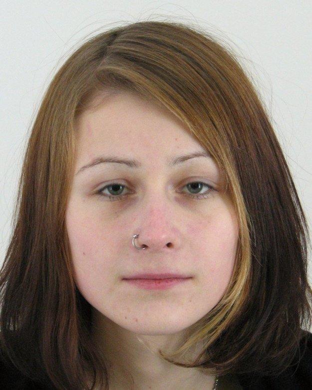 Nezvestná Michaela Zaťková.