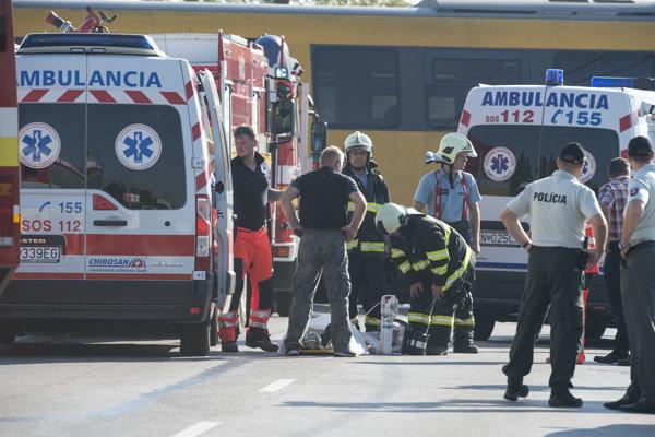 Zranených už hospitalizovali