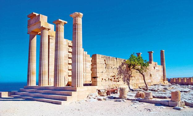 Akropola bohyne Atény