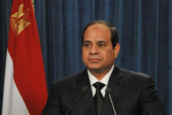 Egyptský prezident Abdal Fattáh Sísí.