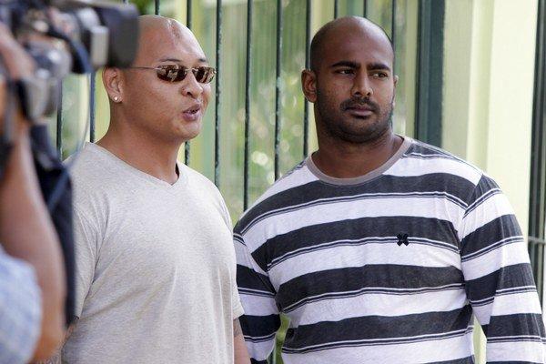 Andrew Chan a Myuran Sukumaran. Oboch čaká trest smrti.