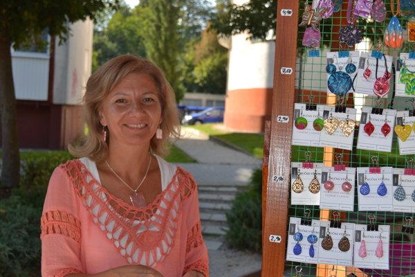 Daniela Gladišová. Tvorí jedinečné šperky.