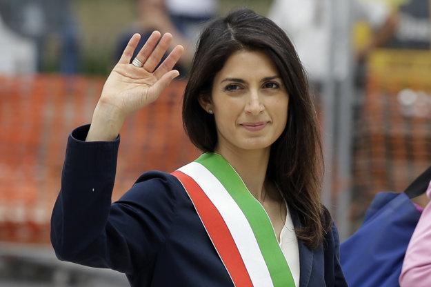 Nová starostka Ríma Virginia Raggiová s kampaňou nesúhlasí.