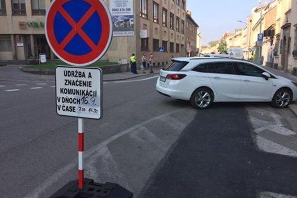 Palackého ulica v Trenčíne.
