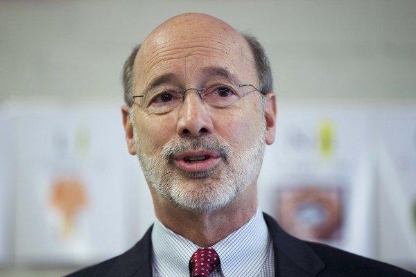 Guvernér americkej Pensylvánie Tom Wolf.