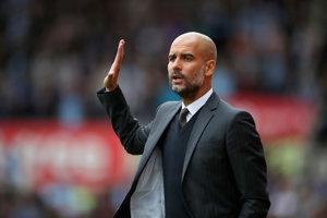 Pep Guardiola vedie od tejto sezóny Manchester City.