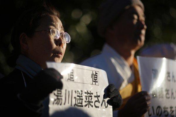 Správa o zabití spôsobila v Japonsku šok.