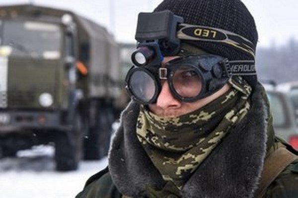 Proruský separatista.