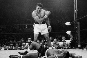 Muhammad Ali  po triumfe nad Sonnym  Listonom.