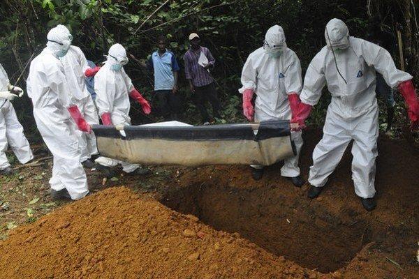 Ebolou sú momentálne najviac postihnuté štáty Libéria, Sierra Leone a Guinea.