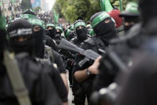Vojaci Hamásu.