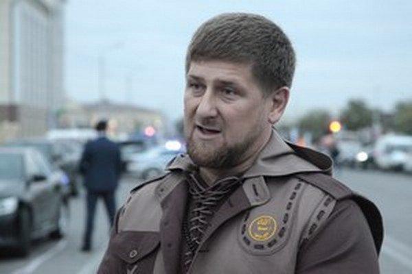 Líder Čečenov Kadyrov.