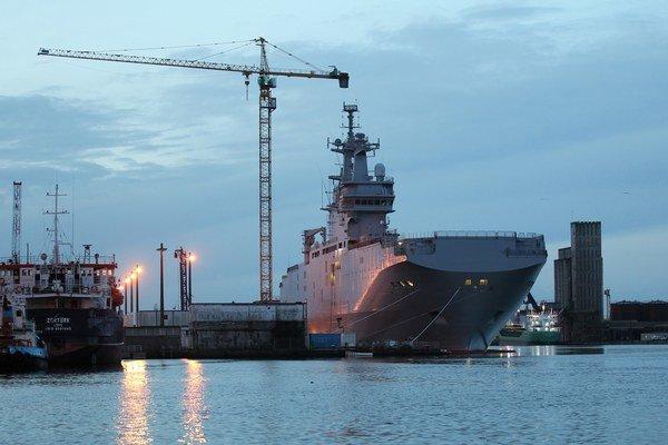 Mistral vo francúzskom prístave.