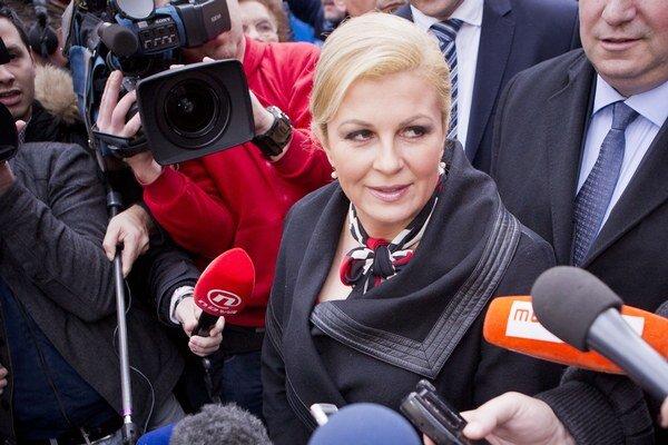 Kolinda Grabarová-Kitarovičová vyhrala tesne, výsledky spochybňujú.
