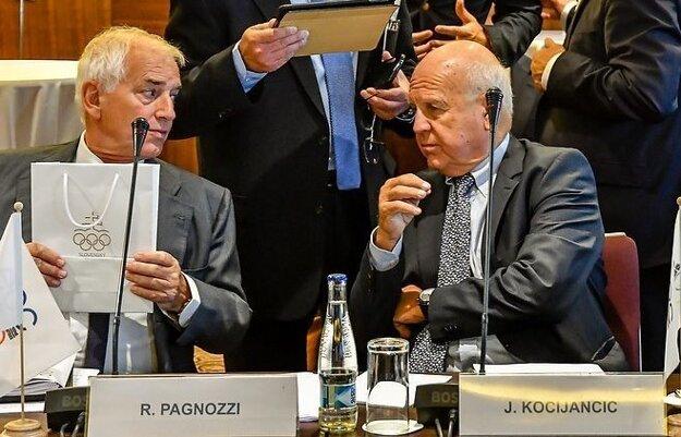 Kocijančič (vpravo) považuje riziko v Turecku za minimálne.