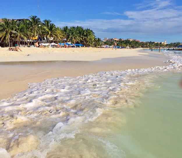 Pláže v Playa del Carmen patria medzi najkrajšie v Mexiku