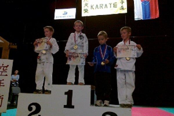 Šesť medailí stačilo ŠŠK Prievidza na konečné ôsme miesto.