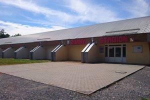 Zimný štadión v Lučenci.