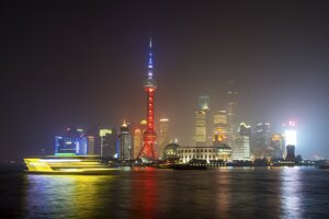 Čína - Šanghaj.