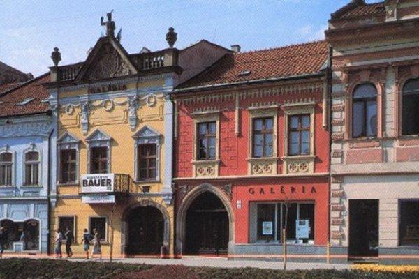 Šarišská galéria v Prešove.