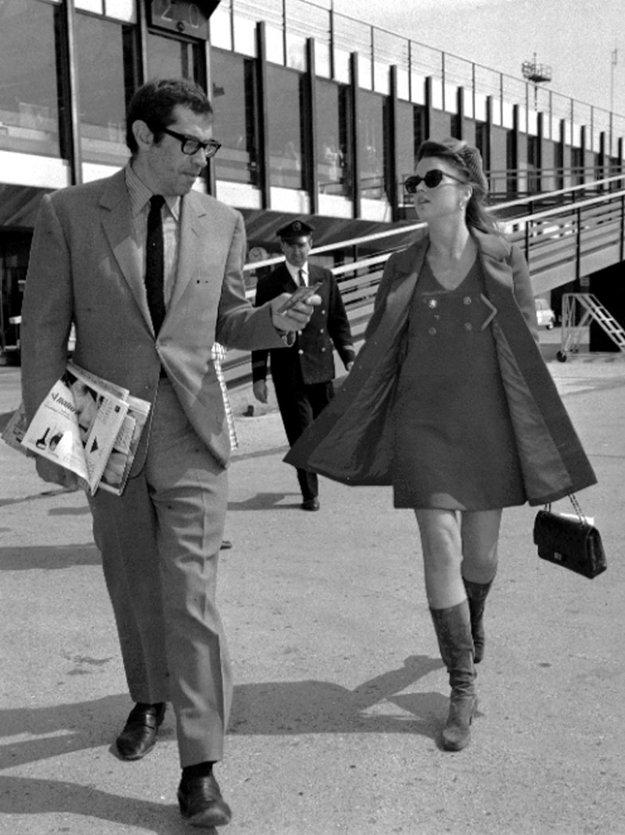 S Rogerom Vadimom v roku 1967