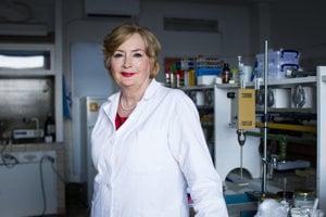 Jarmila Hojerová z Fakulty chemickej a potravinárskej technológie STU.