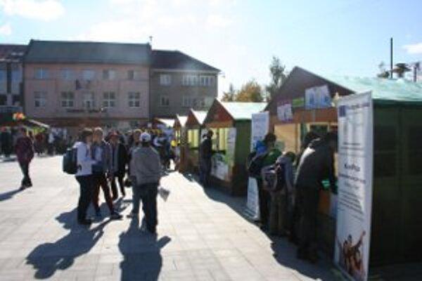 Mladí ľudia v centre Prievidze ukázali, čo dokážu.