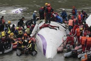 Havária taiwanského lietadla spoločnosti TransAsia