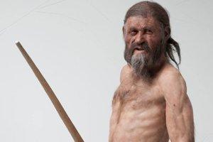Ľadový muž Ötzi.