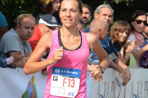 Zuzana Korotvičková. Najrýchlejšia slovenská bežkyňa.