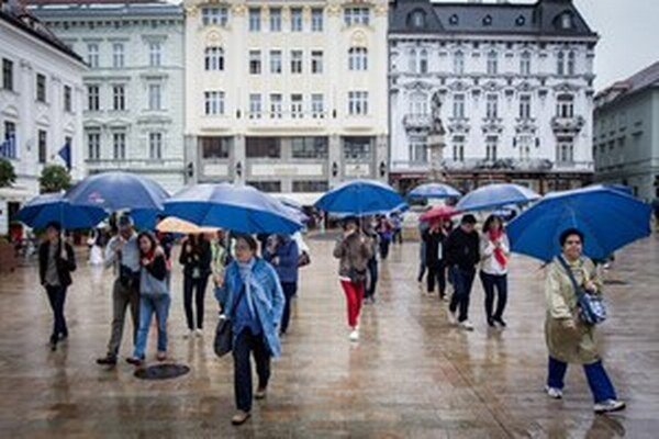 Najbližšie dni sa nám dáždnik zíde.