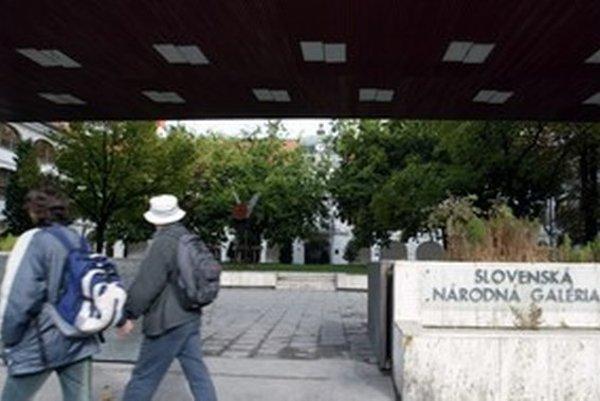 Tri milióny eur  na rekonštrukciu Slovenskej národnej galérie  vláda presunula na iné projekty