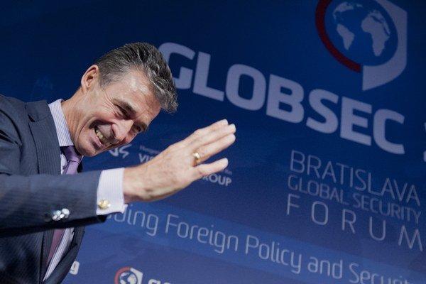 Anders Fogh Rasmussen na GLOBSEC-u 2014.