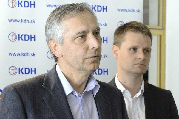 Miloš Moravčík (vpravo).