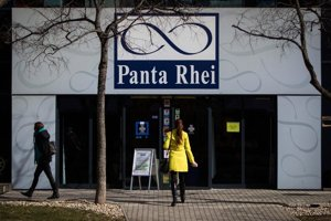 Predajňa Panta Rhei v Bratislave.