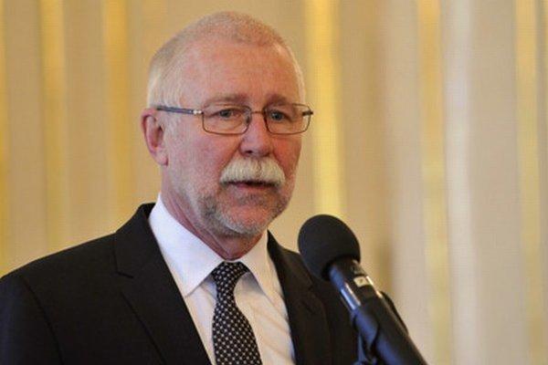 Predseda Slovenskej akadémie vied (SAV) Pavol Šajgalík.