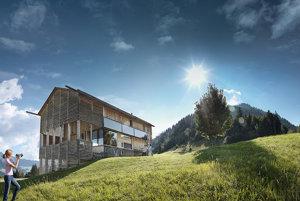 Vorarlbersko - drevená architektúra