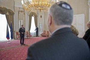 Predseda vlády Robert Fico prijal predstaviteľov Konferencie predsedov hlavných amerických židovských organizácií.