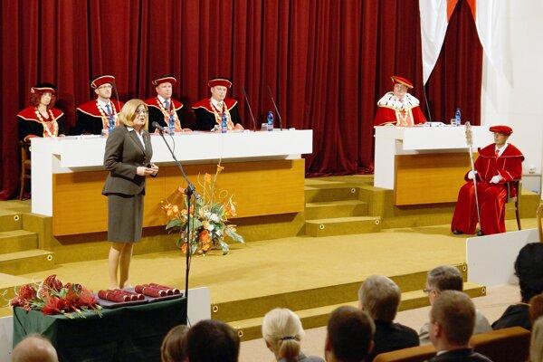 Otvorenia sa zúčastnila aj ministerka pôdohospodárstva a rozvoja vidieka Gabriela Matečná.
