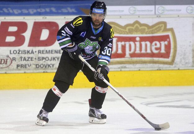 Útočník Michal Hudec patrí v Nových Zámkoch medzi lídrov tímu.
