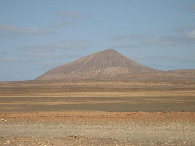 Monte Grande na ostrove Sal.