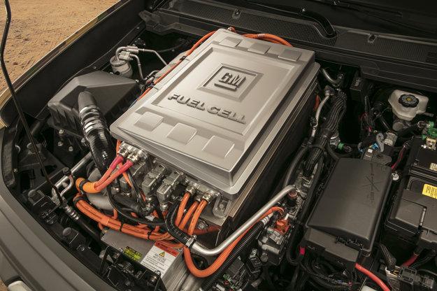 Chevrolet Colorado ZH2 je vybavený pohonným systémom s palivovými článkami