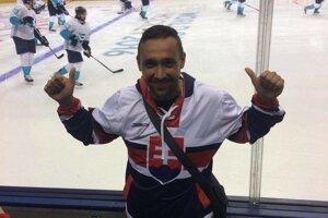 Radoslav Kandrik si nenechal ujsť Svetový pohár v hokeji.