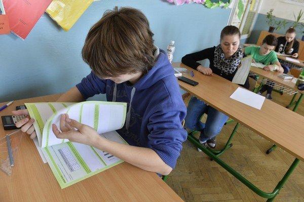Zhoršenie priemeru na záver základnej školy nemôže deti zastaviť pred gymnáziom.