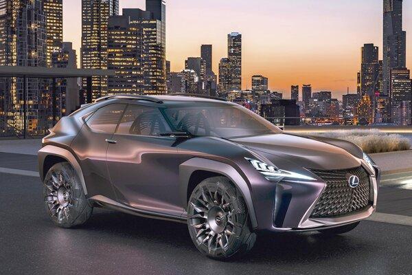 Štúdia Lexus UX Concept. Nový koncepčný automobil firmy Lexus, ktorý má premiéru v Paríži, predznamenáva dizajn budúcich športovo-úžitkových modelov japonského výrobcu.