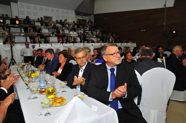 Na galaprograme v Kanianke sa zúčastnili súčasní aj bývalí starostovia a primátori regiónu.
